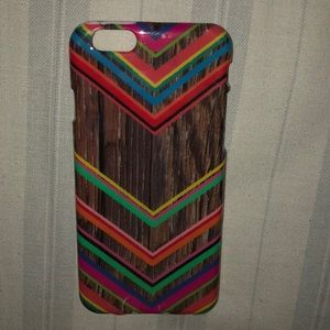 iPhone 6 Colored Wood Phone Case